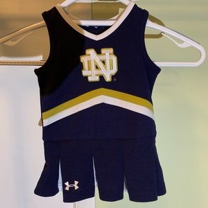 Under Armour Notre Dame cheerleading dress